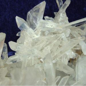 Bergkristall Stufen