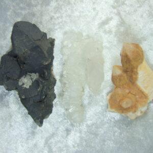 Fadenquarz - Mangankristall - Zepterquarz